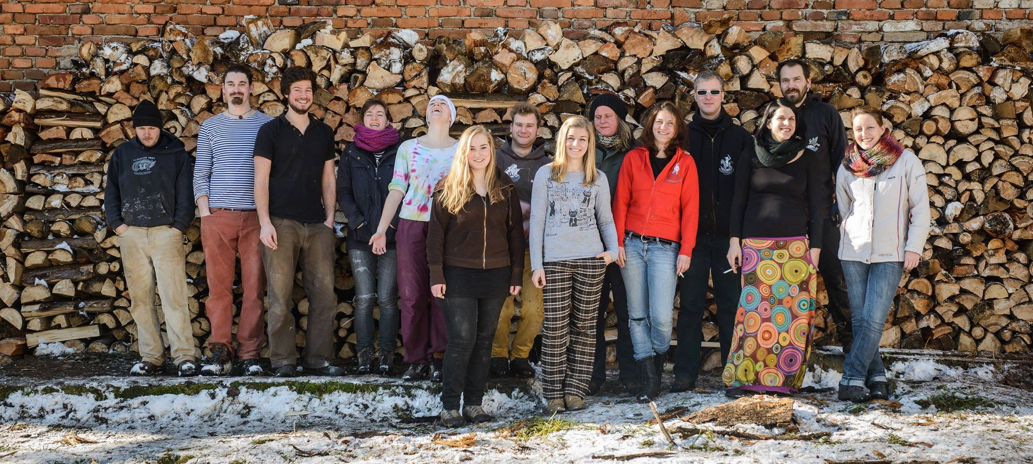 Zimni dobrovolnicky vikend 2015